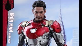 PREVIEW Hot Toys Iron Man Mark 47 Diecast / DiegoHDM