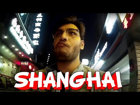 FIRST DAY IN SHANGHAI | RAWKNEE VLOGS