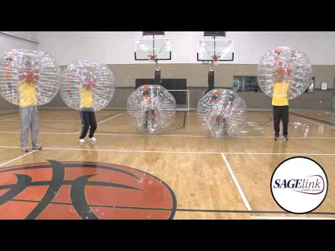 SageLink Credit Union - CU with BUBBLEBalls for Charity
