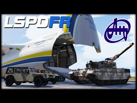 GTA 5 LSPD:FR #153 | Antonov AN-225 TRANSPORT - Deutsch - Grand Theft Auto 5 LSPDFR