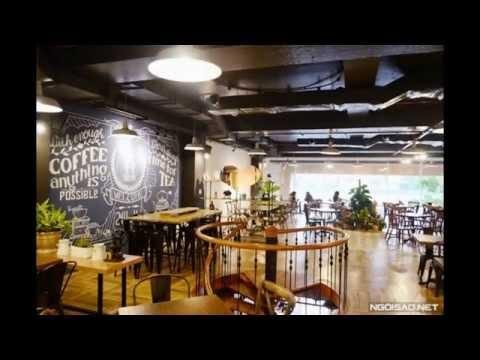 Thiết kế quán cafe đẹp, phong cách - CORA CAFE