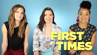 "The Cast Of ""The Bold Type"" Tells Us About Their First Times Video"