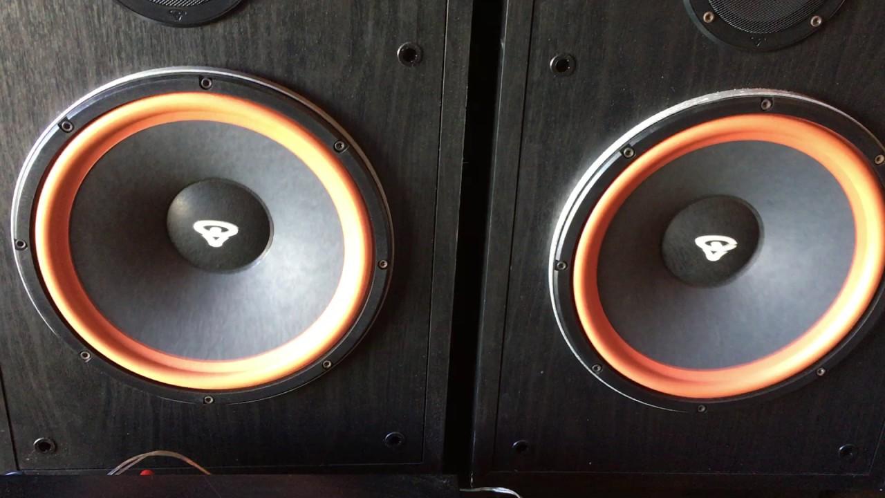 Cerwin-Vega RE Series RE30 Speakers & Harman Kardon AVR 20II 5 1 Channel