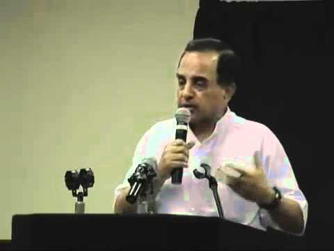 Subramanian Swamy 3/8 - Countering defeatist outlook of Hindu History