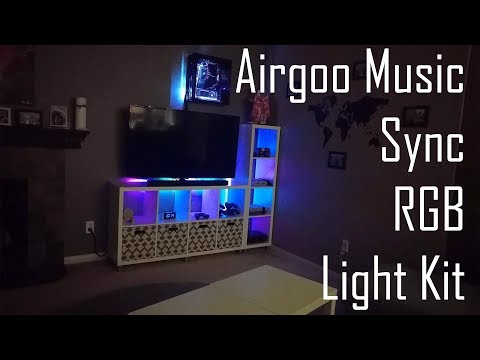 Airgoo Music Sync RGB Light Kit Overview