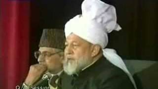 Question & Answer Session 7 November 1993.