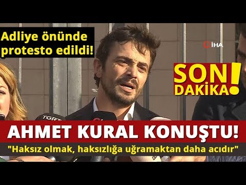Ahmet Kural'dan Adliye Çıkışı İlk Açıklama!