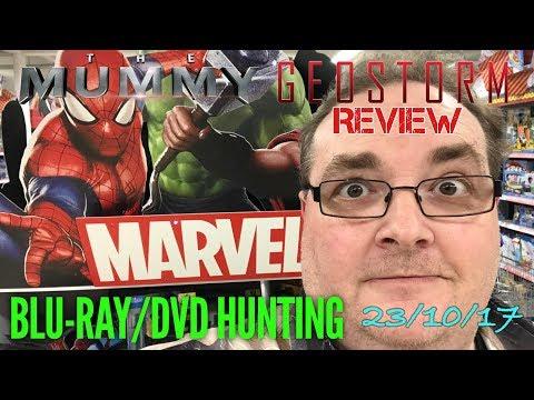 Blu-ray/DVD Hunting with Big Pauly (23/10/17)  - plus GEOSTORM movie trip / review