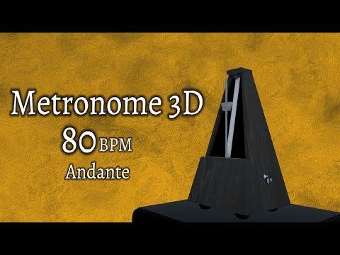 Metronome 80 Bpm