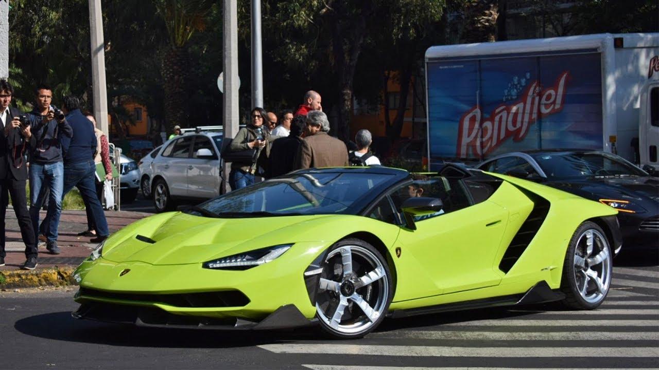 Imagenes De Un Lamborghini: ¡Único Lamborghini Centenario Roadster En México!