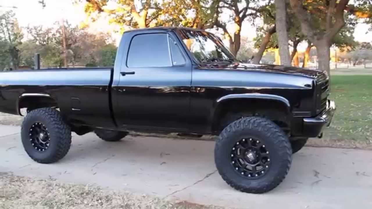 1986 Chevrolet 3 4 Ton 4x4 New Interior New Paint