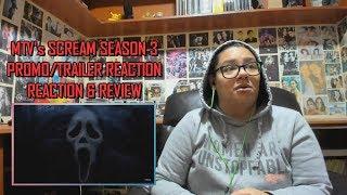 Scream MTV Series Season 3 PromoTrailer REACTION amp REVIEW JuliDG