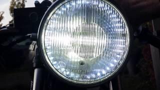 high low beam 45w ba20d vs 80w cree led headlight bulb