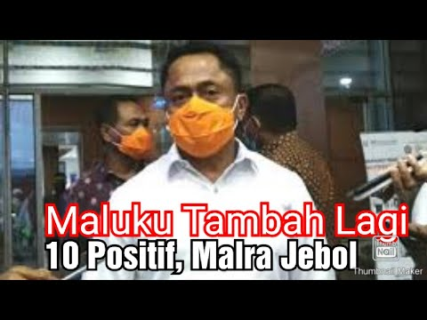 Maluku Tambah Lagi 10 Positif, Malra Jebol from YouTube · Duration:  3 minutes 49 seconds