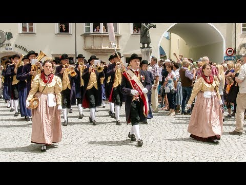 Marching parade - Rattenberg (Austria)