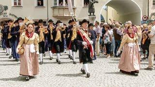 Bezirksmusikfest in Rattenberg - Tirol 2017