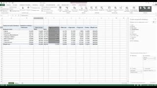 Сводные таблицы Excel ч 2
