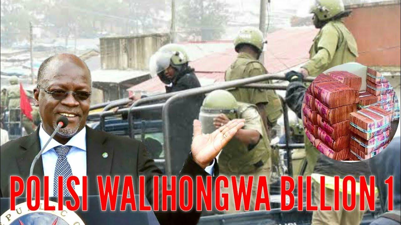Shuhudia MAGUFULI Alichowafanya Polisi Walihongwa Billion 1 Kwenye Sakata La Dhahabu