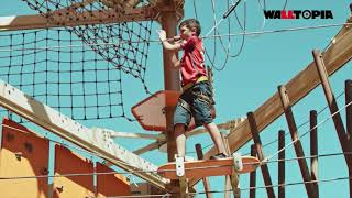 Four Storey Ropes Course - Big Bird, Le Bugue