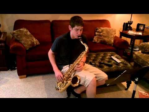 Watermelon Man on tenor sax