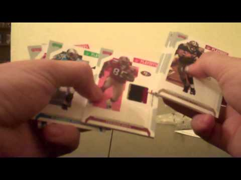 1x Pack Break 2007 NFL Playoffs 3 color Patch hit