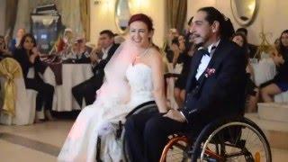 amazing wheelchair wedding dance - tekerlekli sandalye ile düğün dansı nasıl yapılır :)