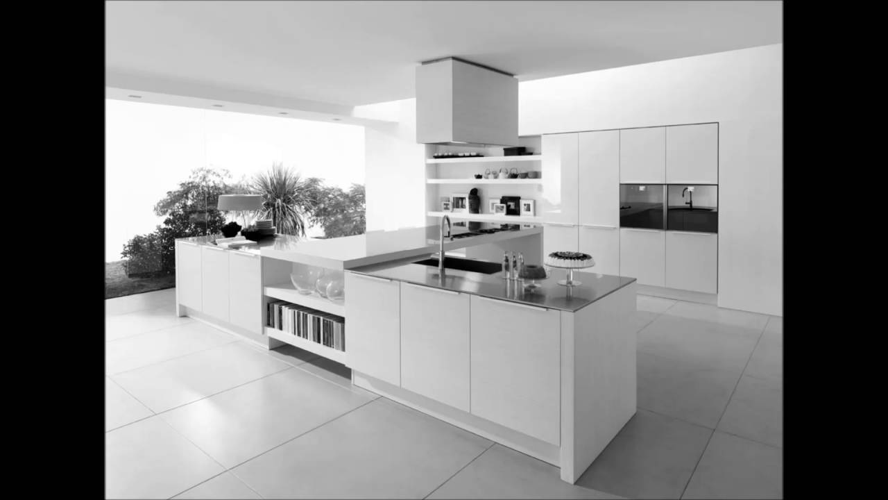 The ultra modern white ikea kitchen youtube for Ikea kitchen modern white