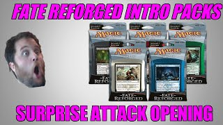 Mtg Fate Reforged Intro Pack Surprise Attack Opening