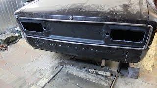 замена задней панели на ВАЗ 2106 класика
