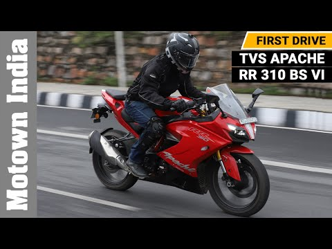 2020 TVS Apache RR 310 BS VI | Review | Motown India
