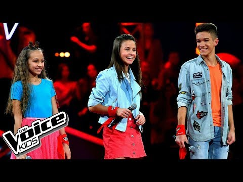 "Szlachcic, Borys, Szmajkowski – ""I know what you did last summer"" – Battle – The Voice Kids Poland"