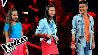 "Szlachcic, Borys, Szmajkowski - ""I Know What You Did Last Summer"" - Bitwy - The Voice Kids Poland"