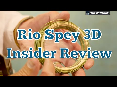 RIO InTouch Single Handed Spey 3D Fly Line - Simon Gawesworth Insider Review
