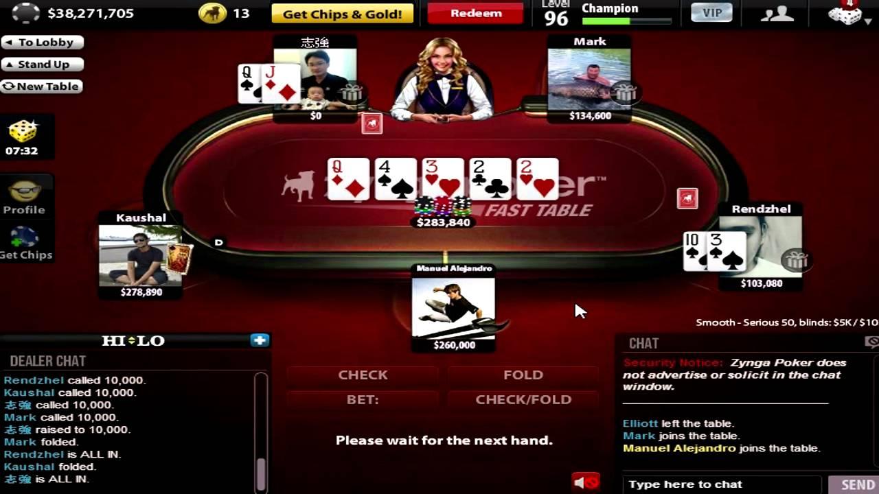 Zynga poker mod apk onhax