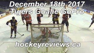 December 18th 2017 Tigers Hockey Goalie GoPro