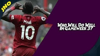 Fantasy Premier League - PLAYERS TO PICK FOR GAMEWEEK 3 FIXTURES- FPL 2018/19