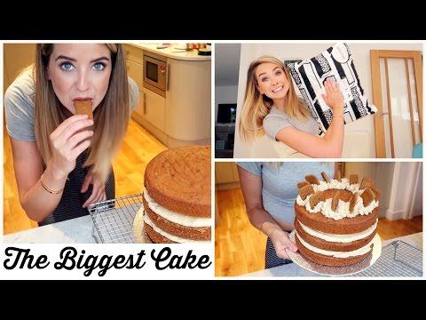 THE BIGGEST CAKE