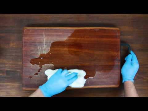 Feast Watson Kitchen Timber Oil How To: Bring Your Old Chopping Board Back  To Life Part 65