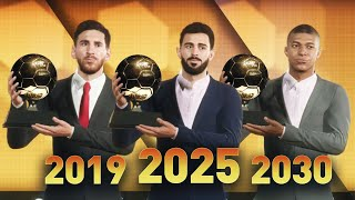 FIFA 20 PREDICTS THE NEXT 15 BALLON D'OR WINNERS!!! (2019-2033)