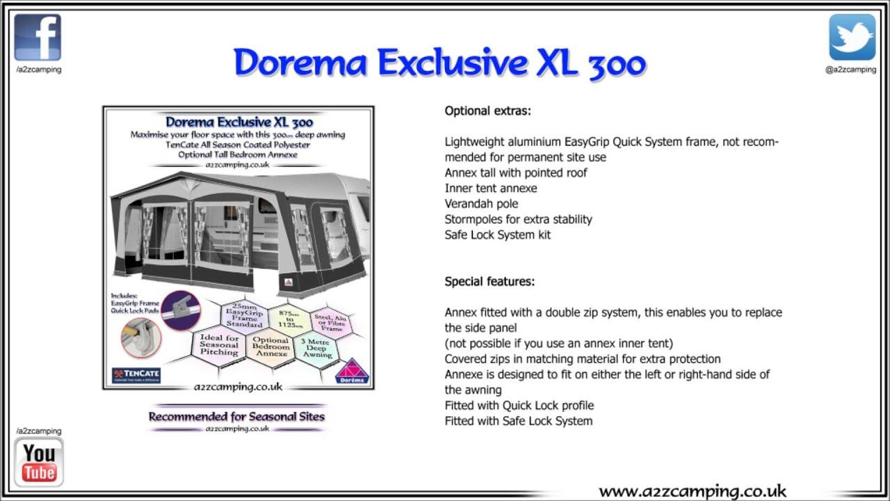 Dorema Porch Awning Instructions - HOME DECOR