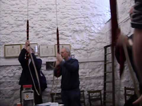 Bellringing at St Olave, Hart Street, London