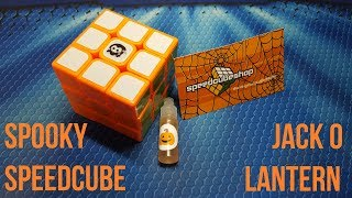 Spooky Speedcube & Jack O' Lantern Lube [SpeedCubeShop Unboxing]