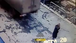 Новосибирск. Наезд на девушку.