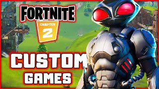 Fortnite! Black Manta! Custom Games! New DC Characters | Blitzwinger