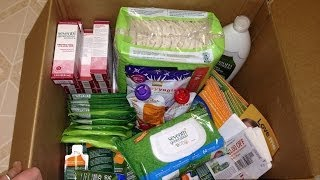 Seventh generation healthy baby house party unboxing freebie samples