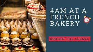 Behind the scenes at a French bakery