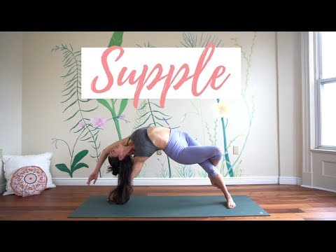 Supple - A 30-Min Vinyasa Yoga Class - Intermediate w/ Handstand Press Practice
