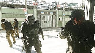 Escaping from the Atlas Facility - Captured - Call of Duty: Advanced Warfare 1080P 60FPS