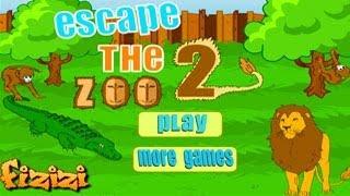 Escape the Zoo 2 Walkthrough, Fizizi Zoo Guide - New Free Games Room Escape