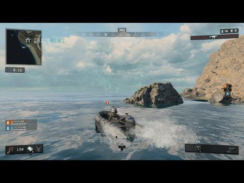 Call of Duty: Black Ops 4 Blackout - Land & Sea Vehicle Gameplay